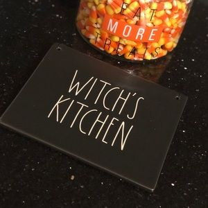 Rae Dunn Witches Kitchen Plaque